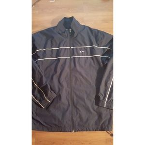 Early 2000's nike windbreaker zip up